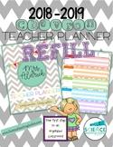 2018-2019 Chevron Teacher Planner REFILL