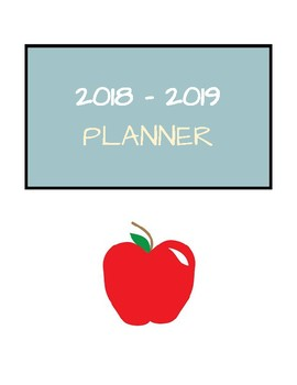 2018 2019 Color Calendar Planner With Nyc Doe Dates By Emily S