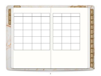 2018-2019 DIGITAL TEACHER PLANNER/BULLET JOURNAL PDF (USE W/ IPAD & COMPUTER)