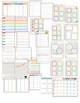 2018-2019 Editable Chevron Teacher Planner/Binder