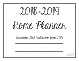 2018-2019 Home Planner