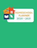 2020 - 2021 Homeschool Planner Calendar