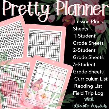 2018-2019 Homeschool Planner - Pretty Planner