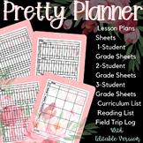 2018-2019 Homeschool Planner - Pretty Planner