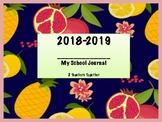 2018-2019 Journal - Fruit themed