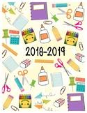 2018-2019 Planner Cover/Back