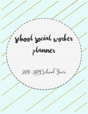 2018-2019 School Social Worker Planner