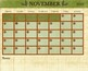 2018/2019 School Year Calendar - 8x12 Bundle