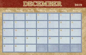 2018/2019 School Year Calendar - 11x17 Bundle