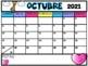2018-2019 Spanish School Year Calendar