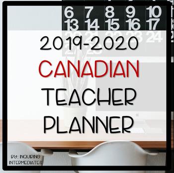 Teacher Planner / Binder 2018/2019 - 100+ Pages!