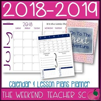 Teacher Planner (18 months)