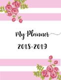 2018-2019 Teacher/Life Planner