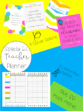 2018-2019 Teacher Planner {For Special Education Teachers}
