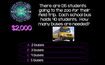2018 - #3 4th Grade Who Wants to Be a Millionaire STAAR Review Game