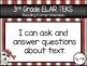 """2018 3rd Grade ELAR TEKS """"I Can"""" Statement Posters: PIRATE PROUD"""
