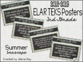 "2018 3rd Grade ELAR TEKS ""I Can"" Statement Posters: SUMMER"