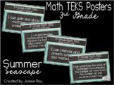 """2018-2019 3rd Grade Math TEKS """"I Can"""" Statement Posters: S"""