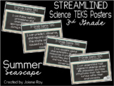 """2018-2019 3rd Grade Science TEKS """"I Can"""" Statement Posters"""