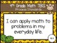 """2018-2019 4th Grade Math TEKS """"I Can"""" Statement Posters: MONKEY BUSINESS"""