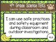 """4th Grade Streamlined Science TEKS """"I Can"""" Statement Posters: MONKEY BUSINESS"""