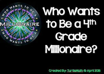 2018 - 4th Grade - Who Wants to be a 4th Grade Millionaire? STAAR Review Game