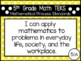 """2018-2019 5th Grade Math TEKS """"I Can"""" Statement Posters: PRIMARY POLKA DOT"""