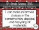 """5th Grade Streamlined Science TEKS """"I Can"""" Statement Posters: PIRATE PROUD"""
