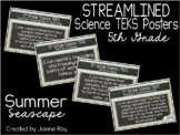"""2018-2019 5th Grade Science TEKS """"I Can"""" Statement Posters"""
