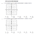 2018 AB Calculus Final Exam Examview testbank