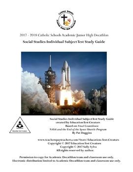 2018 AJHD Individual Social Studies - Final Countdown