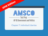 2018 AMSCO AP US Government - Chapter 7: Individual Liberties
