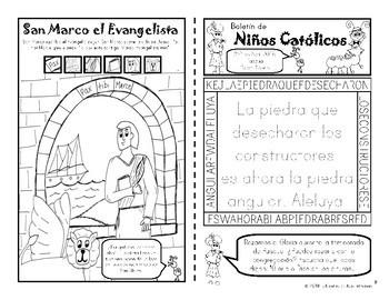 2018 Abril Boletín para Niños Católicos