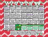 2018 Advent Calendar - Ready To Use With An Idea A Day