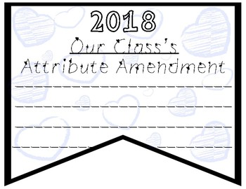 2018 Amendments and Adjustments