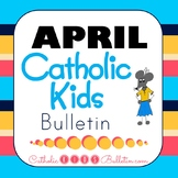 2018 April Catholic Kids Bulletins
