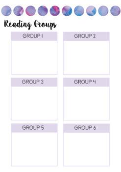 2018 Australian Teacher Planner- Pink Watercolour