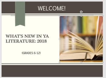 2018 Best New Books for Tweens & Teens (Grades 6-12) Handbook + Seminar Slides