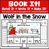 2018 Caldecott Winner: Wolf in the Snow (Book It: Retell I