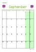 2018 Classroom Calendar Display
