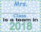 2018 Classroom Signs