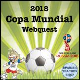 2018 Copa Mundial World Cup Webquest
