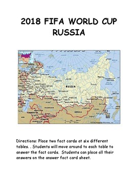 2018 FIFA WORLD CUP IN RUSSIA