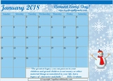 2018 Decorated Calendar