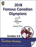 2018 Famous Canadian Olympians Gr. 4-8 e-Lesson Plan
