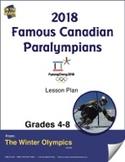 2018 Famous Canadian Paralympians Gr. 4-8 e-Lesson Plan