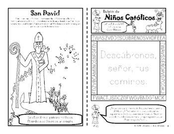 2018 Febrero Boletín para Niños Católicos