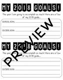 2018 GOAL BOARD!