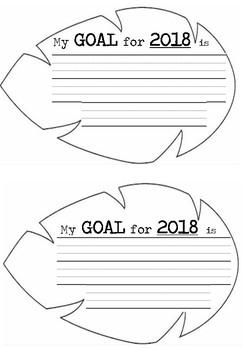 2018 Goals - Leaf Design
