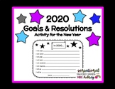 2019 Goals and Resolutions- Activity for the New Year